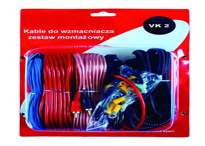 kit de cable lectrique de fil d 39 amplificateur audio de la voiture 10ga avec le support de. Black Bedroom Furniture Sets. Home Design Ideas